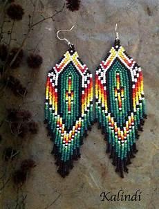 beadwork brincos beadwork brincos jennies items similar to