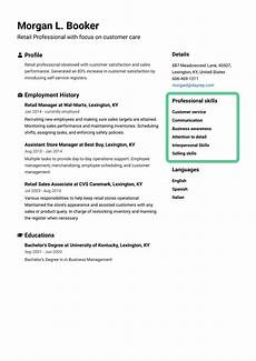 Add Skills To Resumes How To Write A Resume For A Job Ultimate Guide 2020