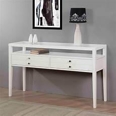 aristo gloss white sofa table contemporary console