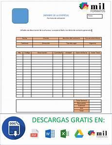 Formato Para Cotizacion En Word Formato De Cotizaci 243 N Gt Ejemplos Y Formatos Excel Word