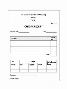 Or Receipt Sample Free 28 Receipt Examples In Pdf Examples