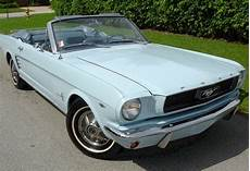 Light Blue 1966 Mustang Arcadian Blue 1966 Ford Mustang Convertible