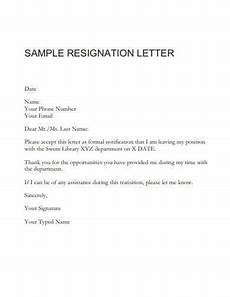 Resignation Letter In Word 15 Best Resignation Letter Templates In Google Docs