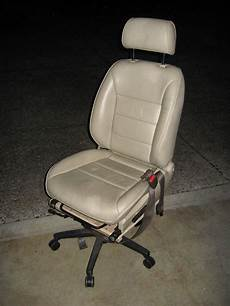 autositz als sessel cheap car seat office chair 4 steps with pictures