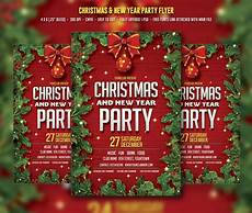 Work Christmas Party Flyer Christmas Amp New Year Party Flyer Templates Creative Market
