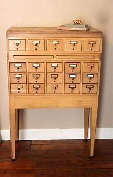 reserved for alex vintage library card catalog file cabinet