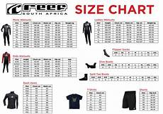 Reef Size Chart Reef Wetsuits Size Chart