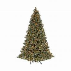 Martha Stewart Living Christmas Tree Lights Martha Stewart Living 9 Ft Sparkling Pine Artificial