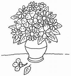 Ausmalbilder Blumenvase Pin Malvorlagen Ausmalbilder Blumenvase Ausmalen