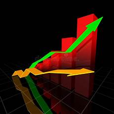 Voltarc Neon Chart Bar Chart 2 Stock Illustration Illustration Of Graph