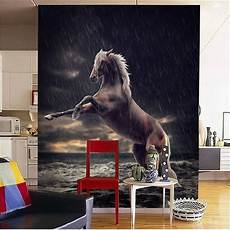 Horses Sofa 3d Image by The Custom 3d Murals In The Artistic
