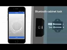 bluetooth cabinet locks keyless invisible