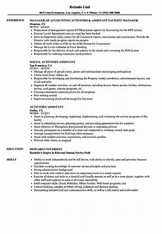 Interest And Activities For Resume Resume Examples Activities Resume Examples Resume