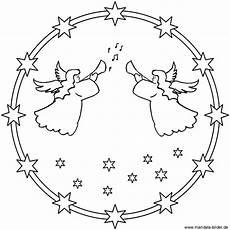 Mandala Engel Malvorlagen Schablone Bastelvorlagen Zum Ausdrucken Weihnachten