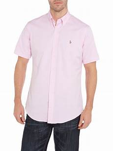 ralph sleeve shirts for lyst polo ralph classic sleeve custom fit
