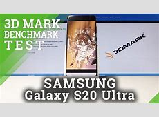 How to Use 3DMark Benchmark in SAMSUNG Galaxy S20 Ultra