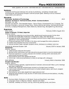 Political Resume Examples 3 778 Social Sciences Resume Examples Amp Samples Livecareer