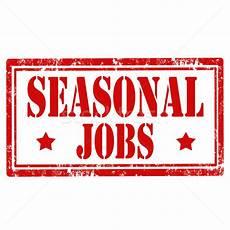 Seasonal Jobs Seasonal Jobs Stamp Vector Illustration 169 Neculai