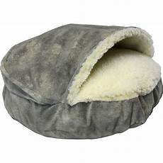 cozy cave luxury hooded pet bed wayfair
