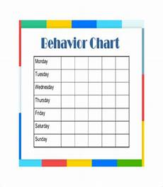 Good Behaviour Charts To Print Off Free Printable Behavior Chart 8 Free Pdf Documents