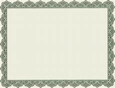 Blank Certificates Templates 4 Best Images Of Printable Of Blank Certificate Borders