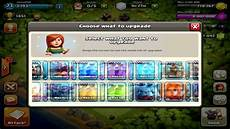Clash Of Clans Max Levels Chart Clash Of Clans Maxing Out Base 60 000 Gems Max Level