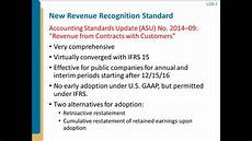 New Revenue Recognition Standard Introduction To New Revenue Recognition Standard Youtube