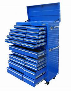 Us Pro Tools Werkzeugwageneinteilung by 05 Us Pro Tools Blue Steel Chest Box Snap Up Cabinet Tool