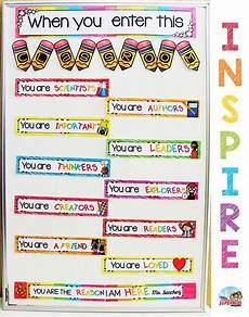 Welcome Chart For Classroom When You Enter This Classroom Classroom Displays
