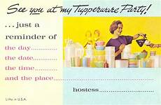 Tupperware Party Invitations Postcardy The Postcard Explorer Vtt Parties