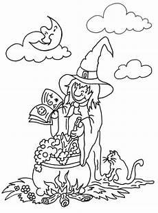 Ausmalbilder Zauberer Und Hexen Ausmalbilder Die Kleine Hexe 07 Heksen