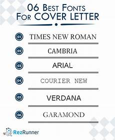 What Font For Cover Letter Best Cover Letter Format And Styling Tips With Example