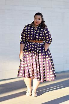 Dress For Fat Lady Design Fabulous Ankara African Print Styles For Plus Size Women