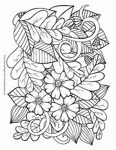 Ausmalbilder Herbst Pdf Autumn Coloring Pages At Getcolorings Free