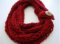 free pattern ravelry infinity button scarf pattern by b