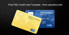 Credit Card Images Free Download Awesome Credit Card Template Psd For Free Download