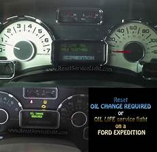 How To Reset Change Oil Light On 2012 Chevy Traverse Reset Oil Service Light Ford Expedition Reset Service