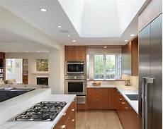 What Size Recessed Lights For Small Kitchen Structuring Mid Century Modern Kitchen For Your Home