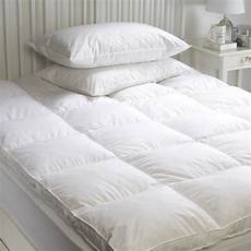 goose feather mattress topper enhancer cover