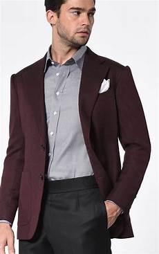 sporty coats bordeaux large twill signature 2 button bespoke sport coat