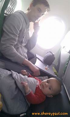 tips for flying with a baby up to 6 months