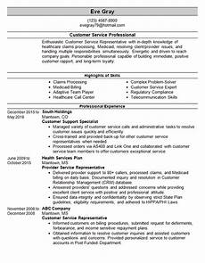 Resumes For Customer Service Customer Service Resume Template