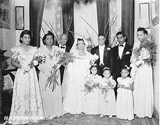 african american wedding photographers archives the wedding party 1950s unidentified african american