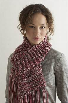 knitting scarves knit two hours or less scarf favecrafts