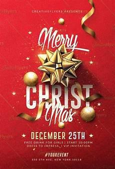 Free Christmas Flyer Psd Classy Christmas Flyer Templates Psd Creative Flyers