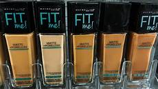 Maybelline Better Skin Foundation Colour Chart Maybelline Fit Me Foundation Review Dewy Amp Smooth Matte