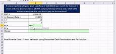 Excel Annuity How To Calculate The Present Value Of An Annuity For Asset