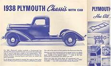 Car Brochures 1938 Plymouth Commercial Cars 1938