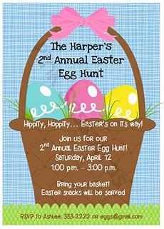 Egg Hunt Invitations Easter Egg Hunt Invitation