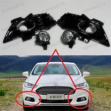 2013 Ford Fusion Fog Lights Clear Fog Driving Lights Lamps W Covers Kits For Ford